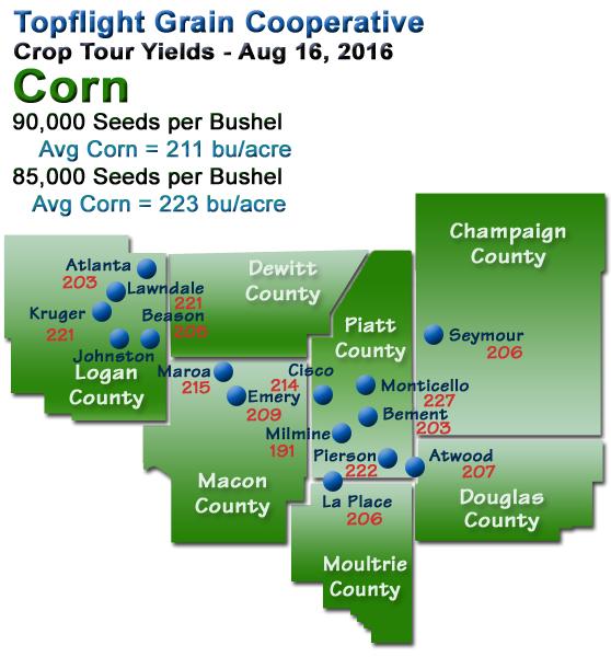 Crop Tour 2016 Corn