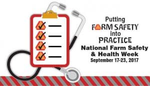 National Farm Safety & Health Week